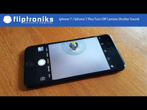 Iphone 7 / Iphone 7 Plus - How To Turn Off Camera Shutter Sound - Fliptroniks.com