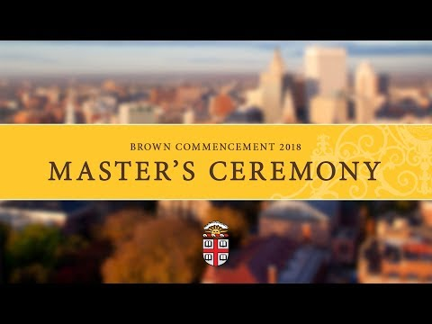 Commencement 2018 - Master's Ceremony