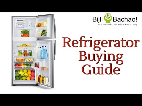 Guide To Buy The Best Refrigerator In India