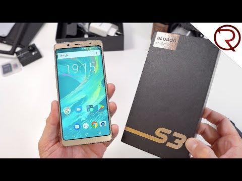 An impressive $150 Smartphone - Bluboo S3 Unboxing - 8500mAh, NFC, 6
