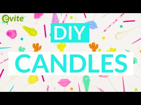 DIY Candles | How To Make Your Own Birthday Candles
