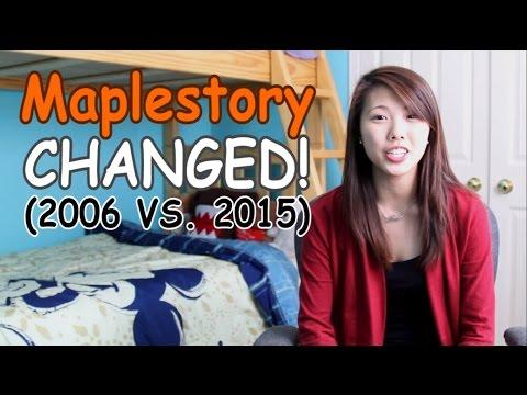 Maplestory CHANGED! (2006 vs. 2015)