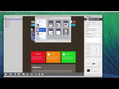 Make Your Own Website - The Best Website Builder For OS X