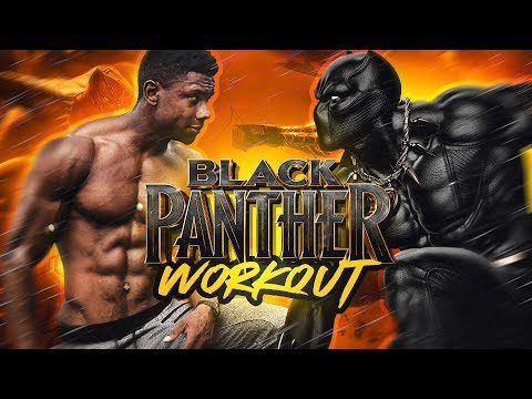 THE REAL BLACK PANTHER WORKOUT