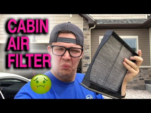 How To Change Cabin Air Filter - 2015+ Subaru WRX & STI