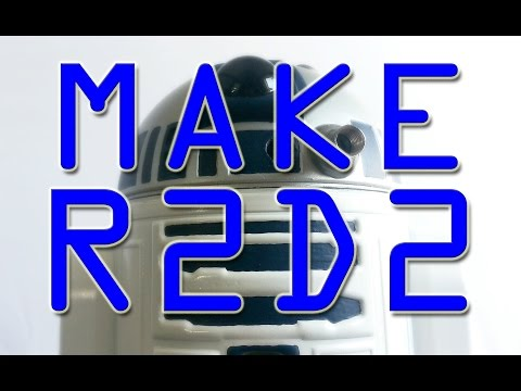 HOW TO MAKE R2D2  from Star Wars