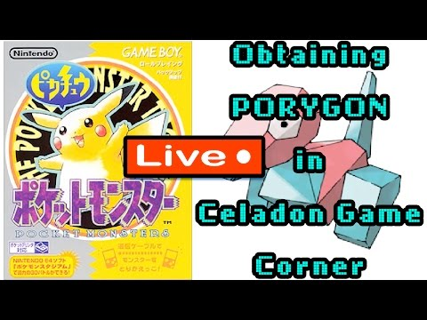 Pokemon Yellow New3DS Celadon Game Corner