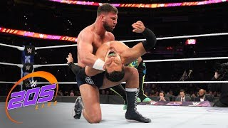 The Brian Kendrick strikes back against Drew Gulak and Jack Gallagher: WWE 205 Live, Oct. 17, 2018