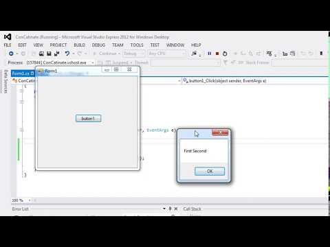 074 - How to use C# string Concat