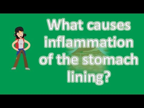 What causes inflammation of the stomach lining ?   Best and Top Health Answers