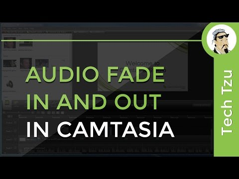 How to Audio Fade in and out in Camtasia