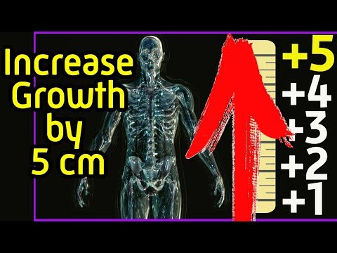 10 ways to increase your height in any age - How to become taller in 3-5 centimeters