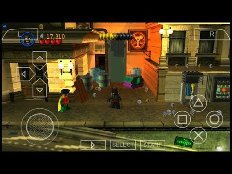 Cara Download Dan Install Game Lego Batman The VideoGame PPSSPP Android