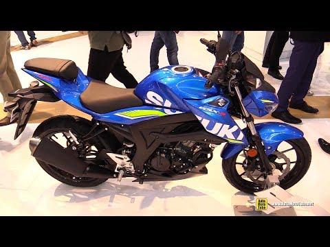 2018 Suzuki GSX-S125 ABS - Walkaround - 2017 EICMA Milan Motorcycle Exhibition