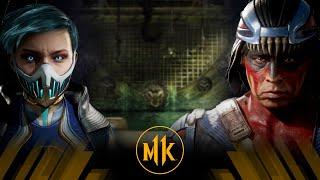 Mortal Kombat 11 - Frost Vs Nightwolf (Very Hard)