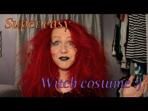Super easy Witch costume :)
