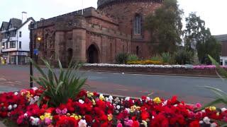 Early Morning Walks - Carlisle City Centre. Cumbria, England Uk