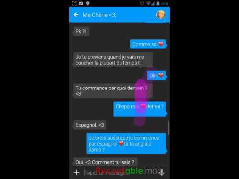 Textra bonne application SMS