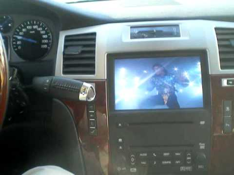 GM Cadillac Chevrolet DVD Movies In-Motion NAVIGATION DVD HACK!!