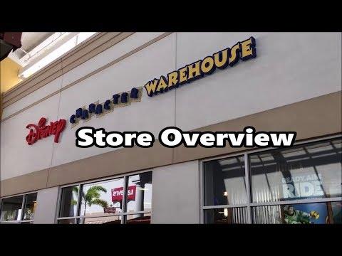 Disney Character Warehouse Outlet Store   Shopping   Walt Disney World Merchandise