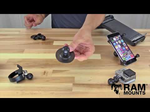 RAM® Short Length Double Socket Arm B Size
