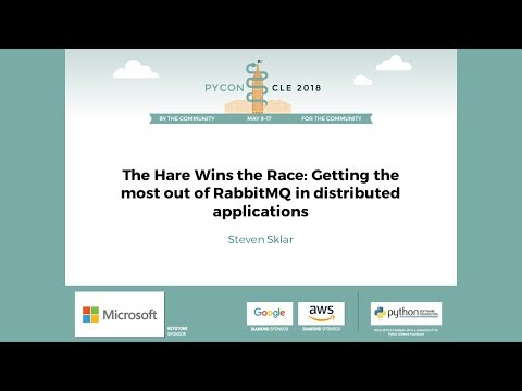 Steven Sklar - The Hare Wins the Race: Getting the most out of RabbitMQ in distributed applications