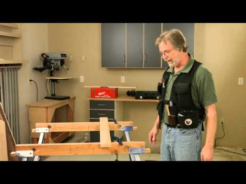 Customize Sawhorses for Easier Clamping