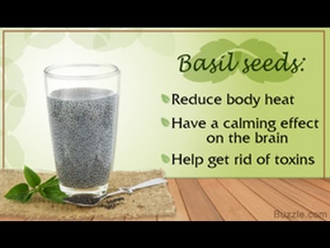 15 Health Benefits of Basil Seeds
