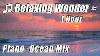 Background Music Instrumentals - Slow Classical PIANO Songs Beautiful Romantic Ocean Soundtrack Mix