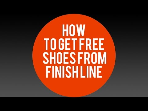 How To Get Free Shoes From Finish Line!