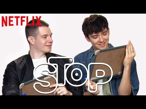 Xxx Mp4 Elenco De Sex Education Joga O Stop Da Netflix Netflix Brasil 3gp Sex