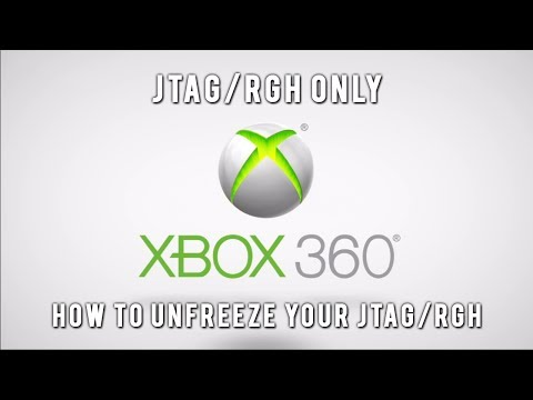 JTAG/RGH Tutorials - How to Unfreeze/Fix Your RGH/JTAG (XBLSE Fix)