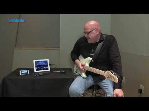 Line 6 Sonic Port iOS Audio Interface Demo at GearFest '13 - Sweetwater Sound