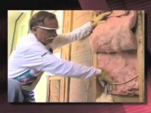 Right Vs Wrong: Installing Insulation Batts In Exterior Walls - Part Two