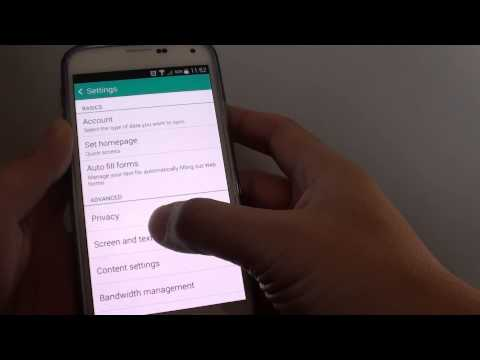 Samsung Galaxy S5: How to Enable/Disable Internet Browser Full Screen Mode