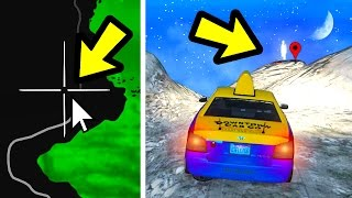 WHAT HAPPENS IF YOU SEND A TAXI TO THE GHOST? (GTA 5)