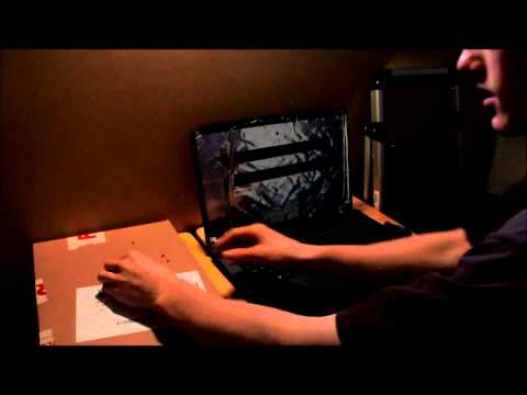 Laptop screen replacement / How to replace laptop screen  Acer aspire 7250-0672