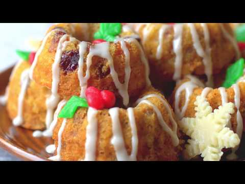 Easy Stir & Mix Alcohol Free Fruit Cakes With Quick Mincemeat   Christmas Recipes   Cakes And More