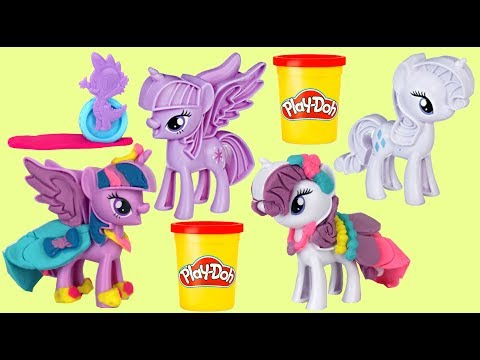 Play-doh My Little Pony MLP Fashion Fun with Rarity & Twilight Sparkle Toys