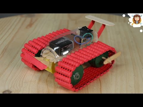 How to Make a Car / Tank - Very Easy