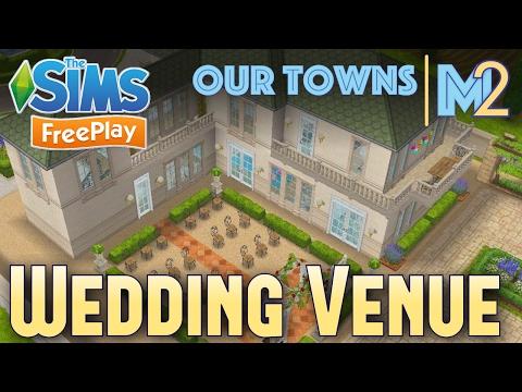 Sims FreePlay - French Chateau Wedding Venue (Original Design)