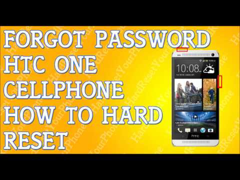 Forgot Password HTC ONE How To Hard Reset