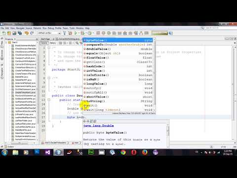 Convert Double to Numeric Primitive data types in Java Netbeans