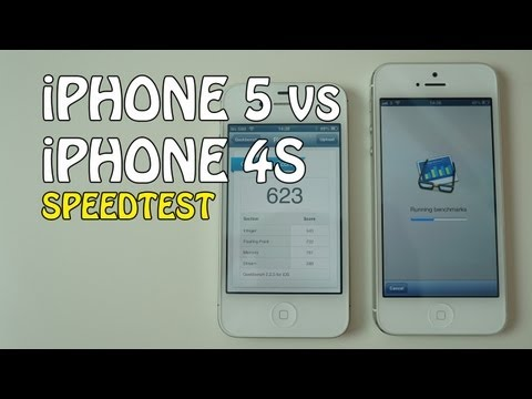 iPhone 5 Speedtest vs iPhone 4S & iPad 3 | Geekanoids Test