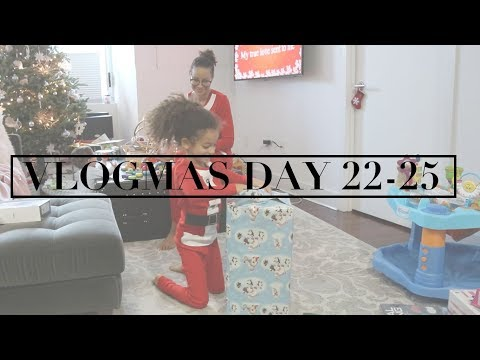 VLOGMAS DAY 22-25 | It's Over! Final Days of Vlogmas 2017!