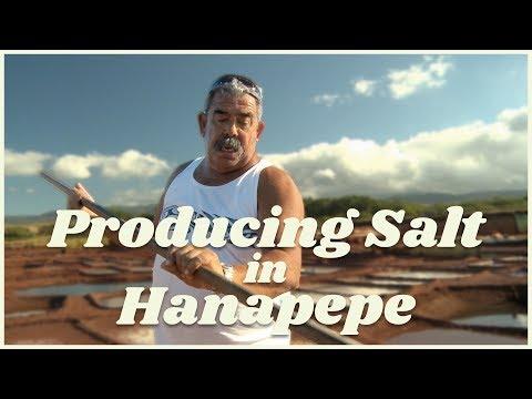 Producing Salt on Kauai - KVIC-TV3 [Culture] [Agriculture]