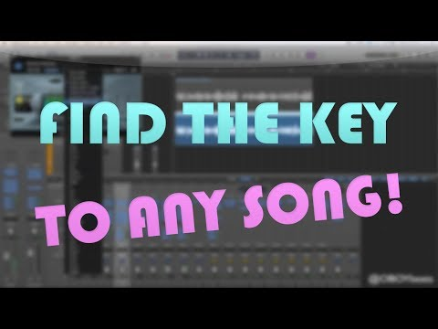 How to Find the Auto Tune Key to ANY SONG