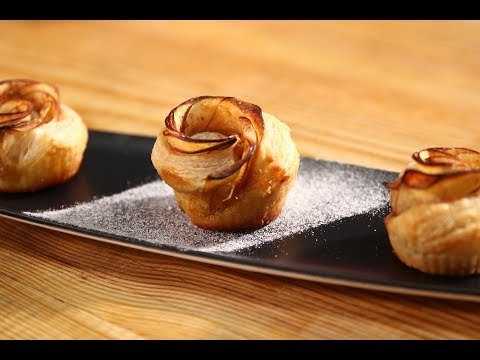 Apple Roses | Apple Tasty Delight | Chef Anupa | Sanjeev Kapoor Khazana