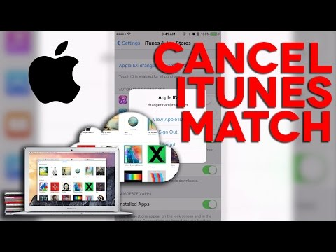 How to cancel your iTunes Match subscription