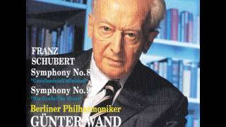 "Schubert - Symphony No. 8 ""unfinished Symphony"" [gunter Wand, Bpo]"